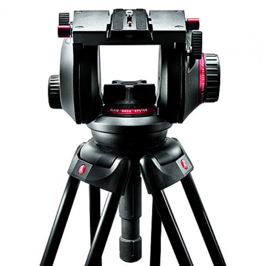 Pro Fluid Video-Neiger mit 100 mm Halbkugel und 509PLONG Nr. MA 509HD