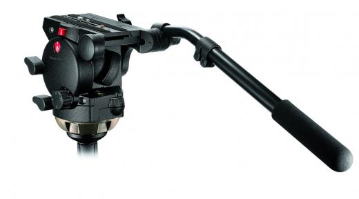 Profi Fluid Video-Neiger mit 100 mm Halbkugel und 357PLV Nr. MA 526