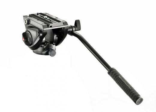 Fluid Videoneiger, kompakt, mit flacher Basis (5kg Traglast) Nr. MA MVH500AH