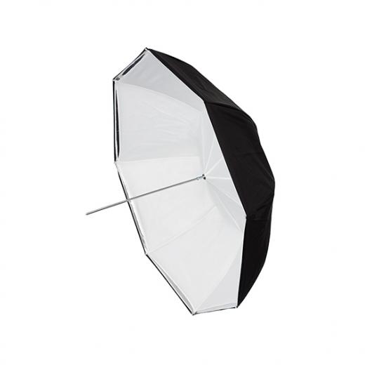 HEDLER Schirm weiss 80cm Nr. HD1006
