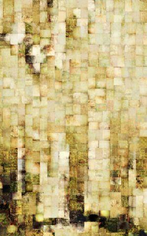 Click Props Hintergrund Vinyl mit Gold Mosaic 1,52 x 2,44m Nr. CP-590527