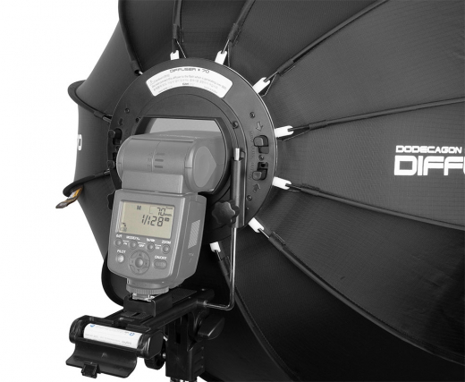 SMDV Dodecagonal Strobist Speedbox Softbox 70cm für Systemblitze Nr. SMDV-2546