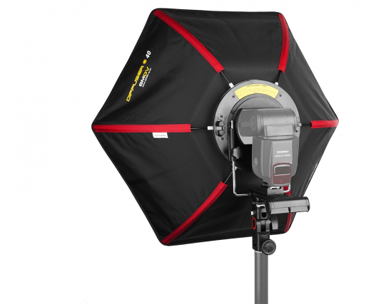 SMDV Strobist Speedbox Softbox 40cm für System-/ Aufsteckblitze Nr. SMDV-2375