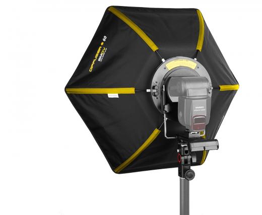 SMDV Strobist Speedbox Softbox 60cm für System-/ Aufsteckblitze Nr. SMDV-2377