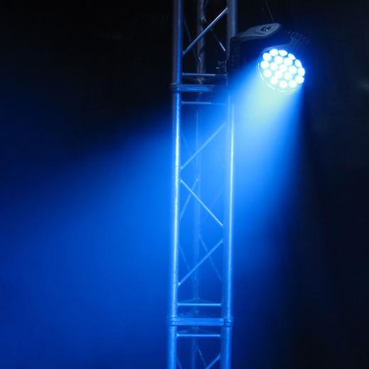 LED Moving Head WASH 19x15W RGBW 4w1 ZOOM Osram Nr. FP-F7000530