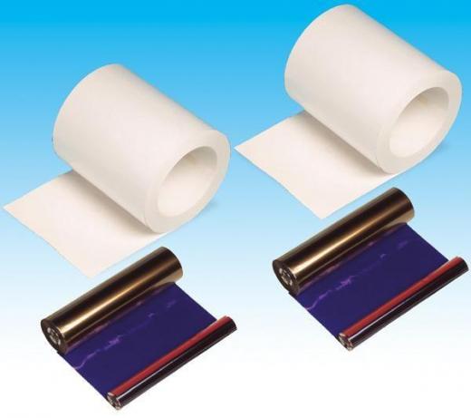 DNP Papier DM6940 2 Rollen je 180 St. 15x23 für DS40 Nr. FE-670409