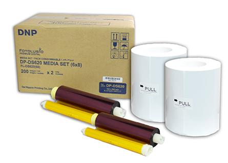 DNP Papier DM68620 2 Rollen je 200 St. 15x20 für DS620 Nr. FE-670608