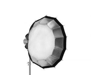 SMDV Alpha II Speedbox-A100B Dodecagon Softbox 100 cm f?r Bowens mit Metall-Speedring Nr. SBX-3111