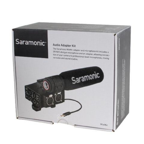 Saramonic XLR Audio Adapter Kit MixMic with Microphone Nr. FE-189420