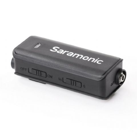 Saramonic Dual Audio Mixer LavMic mit Lavalier Mikrofon f?r DSLR/GoPro/Smartphones Nr. FE-189405