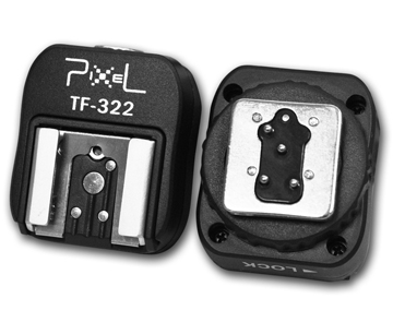 Pixel I-TTL Hotshoe Adapter TF-322 für Nikon Nr. FE-3930195