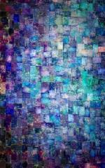 Click Props Hintergrund Vinyl mit Bild Aqua Mosaic 1,52 x 2,44m Nr. CP-590512