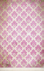 Click Props Background Vinyl with Print Damask Distressed Pink 1.52 x 2.44M No. CP-591437