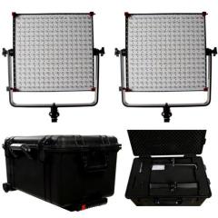 Linkstar LED Lampe Set Dimmbar mit Koffer X6.12 auf 230V Nr. FE-564143