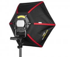 SMDV Strobist Speedbox Softbox 50cm für System-/ Aufsteckblitze Nr. SMDV-2376
