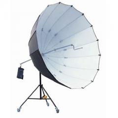 StudioKing Jumbo Reflexschirm UBJ22 Schwarz/Silber 220 cm Nr. FE-572210