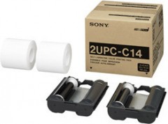 Sony-DNP Paper 2UPC-C14 2 Rolls ? 200 Pc. 10x15 for UP-CR10L No. FE-650414